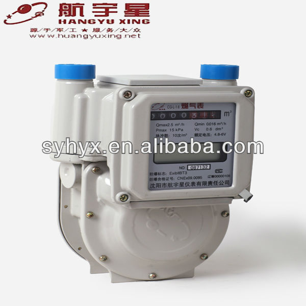 Temperature Compensation Aluminium Case Diaphragm G2.5 Gas Meter