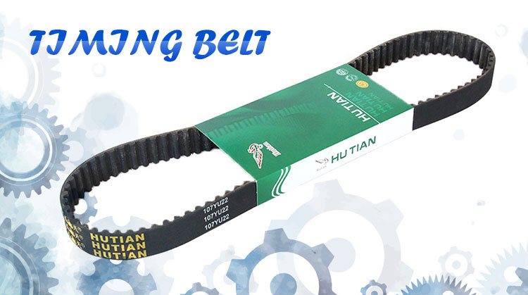 transport timing belt with wire reinforcement