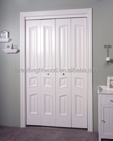 custom design 4 platten innere faltt ren holz bifold schrankt ren mit spiegel t r produkt id. Black Bedroom Furniture Sets. Home Design Ideas