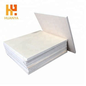 Kiln Fireplace Ceramic Fiber Hard Boards High Temp Fireproof 1800 Insulation Ceramic Fiber Board