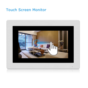 Multi Apartment SIP Video Phone Intercom System 7 inch TFT LCD Touch Screen Wireless Wifi SIP Video Intercom