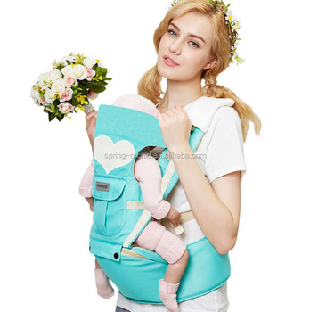 Fashion Infant Baby Carrier With Hip Seat