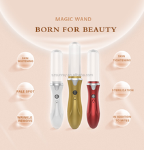 Portable home use beauty device high-tech plasma face lift wrinkle remover anti aging magic wand massager