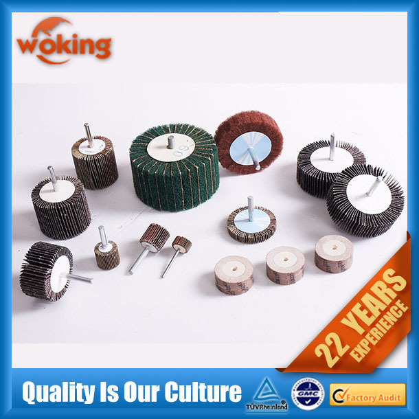 Abrasive Grinding Flap Wheel with Shaft