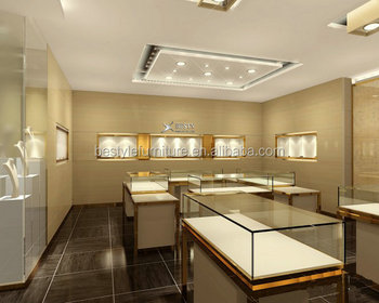 Sk4063 Modern Wood Jewellery Store Interior Design Jewelry