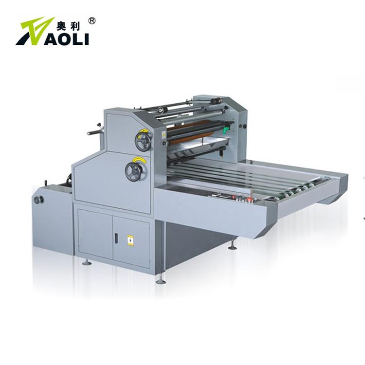 semi-automatic waterbased film laminating machine bopp film laminator