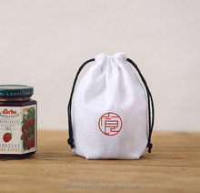 Indian Drawstring Round Pouch