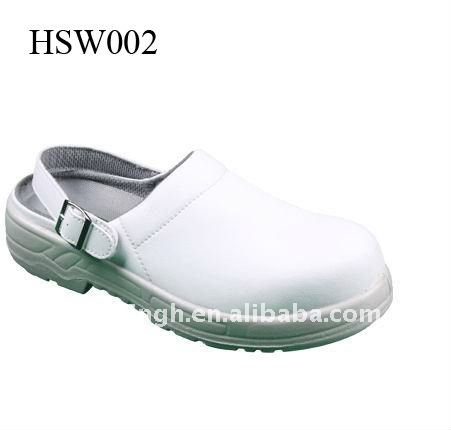 white shoes keep kitchen cleanness