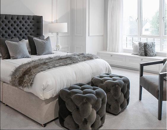 Venta al por mayor cabeceros de cama tapizados-Compre online los ...