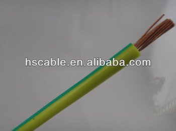 h07v k yellow green pvc earth wire buy pvc earth wire flexible earthing wire pvc sheath. Black Bedroom Furniture Sets. Home Design Ideas