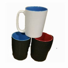 Cheap ceramics black coating mug cup
