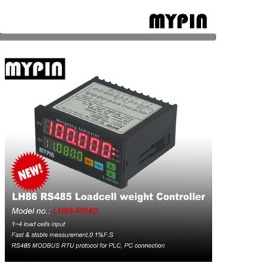 MYPIN brand 4-20mA Analog weight load cell Indicator(model:LH86-INND)
