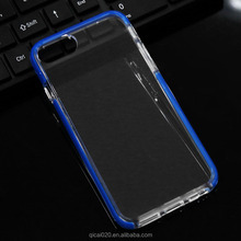 Fashion cell phone case TPU+TPE shockproof case for iphone 7 and plus rock brand