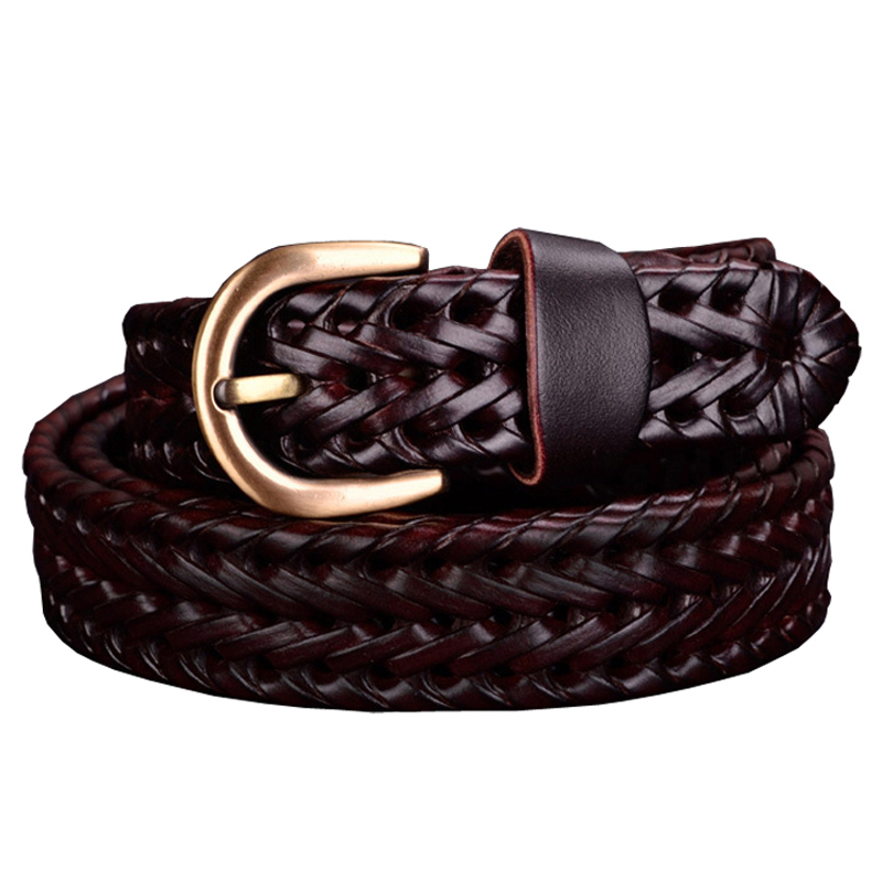 Kaured Elegant Women DressMulticolor Female Leather Belt Straps Ladies