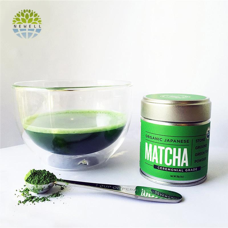LFGB good taste bulk green tea powder with logo - 4uTea | 4uTea.com