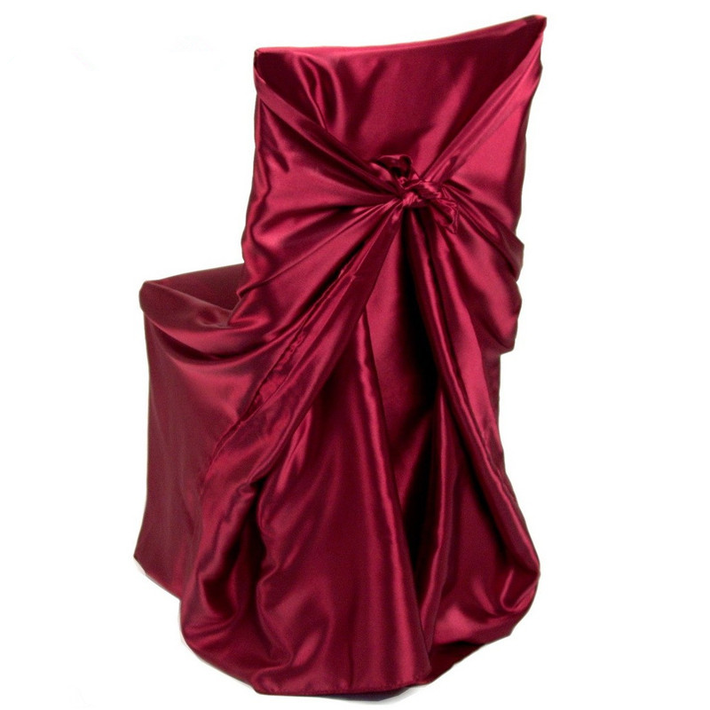 Pleasing Universal Self Tie Satin Chair Covers Polyester Banquet Chair Covers Satin Chair Bag For Wedding Party Banquet Decoration Buy Satin Chair Cover Tie Alphanode Cool Chair Designs And Ideas Alphanodeonline