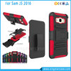 Super Robot Rugged Impact Belt Clip Holster Phone Case For Samsung Galaxy J5 2016 With Kickstand