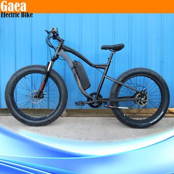 Electric Fat Bike 48v 1000w Beach Cruiser Bicycle Dirt Bikes For