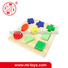 montessori sensory wooden geometric matching toys wooden educational toys wooden for kids