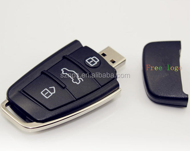 New electronic gadgets car remote control shaped usb , novelty for car key shaped usb sticks