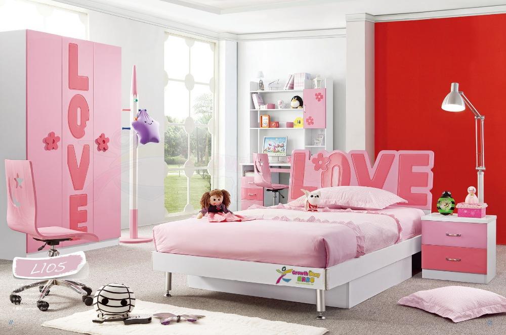 Hot sale china modern lovely kid sets furniture girls - Contemporary bedroom sets for sale ...