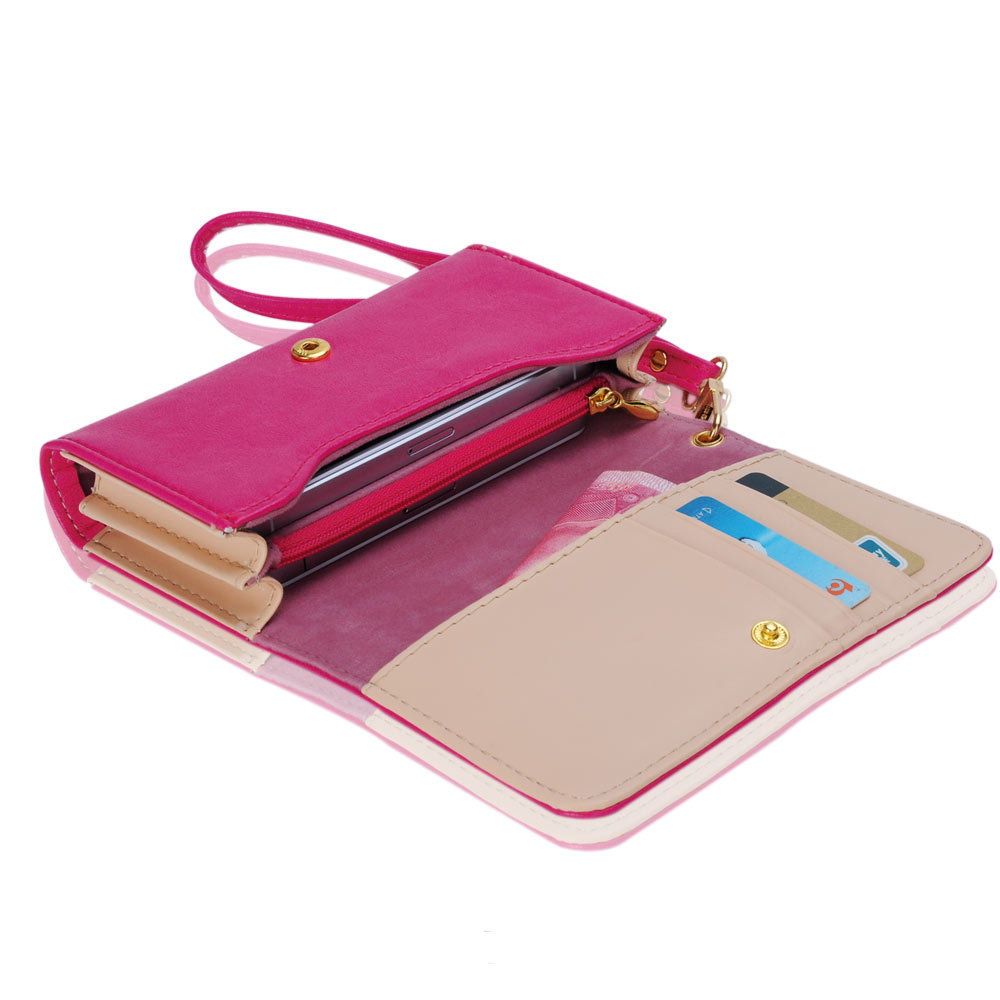 Multifunctional Envelope Wallet Purse Clutch Bag Phone Case Cover for iPhone  4 4S 5 Samsung S2 S3 B702 c66cc9eb91