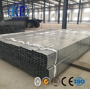 Tianjin Galvanized Steel Pipe Rectangular Price List