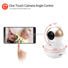 Simple Installation Night Vision 720P Wireless Pan/ Tilt Wifi IP Camera and Convenient Operation