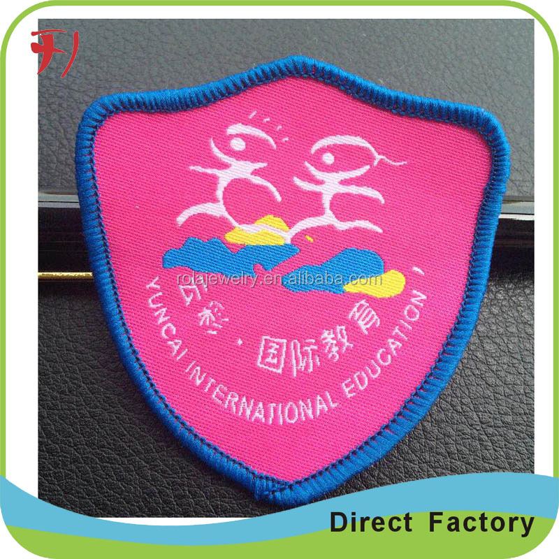 New design cork iron on patches factory price custom bulk iron on patches wholesale