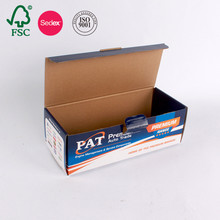 Custom Design Cardboard Corrugated Paper Packaging Box Printing Chinese Supplier