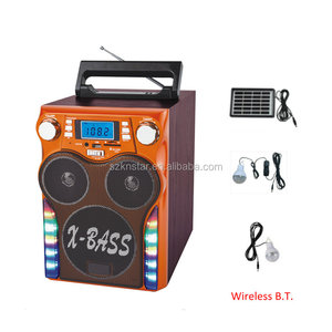 2017 new wireless MP3 player with full band radio digital outdoor speaker