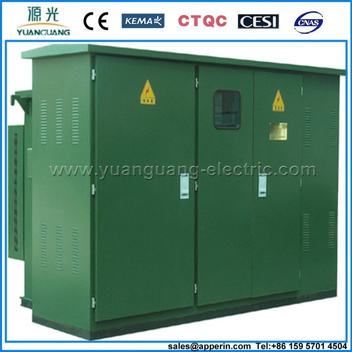 6KV outdoor electrical power distribution transformer substation