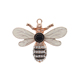 Crystal Bee Charm Rhinestone Bee Pendant Necklace Animal Pendant
