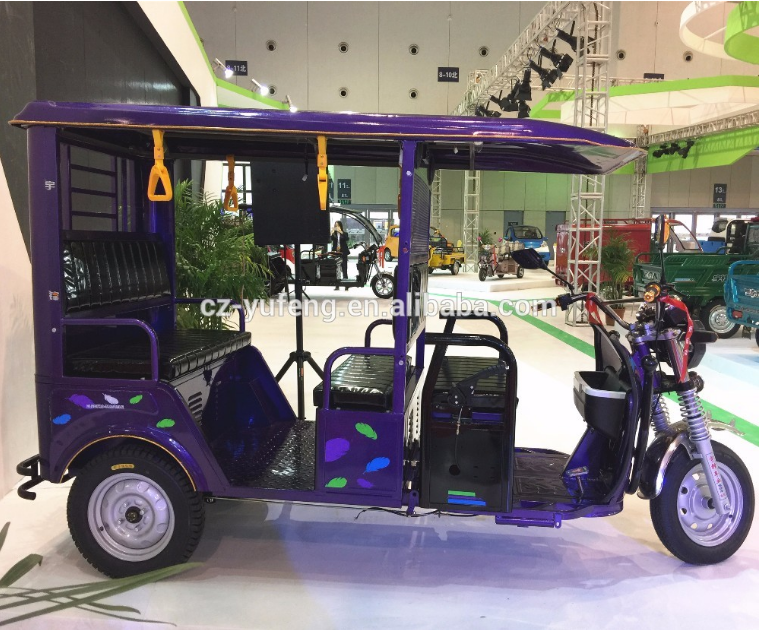 battery powered Yufeng electric rickshaw