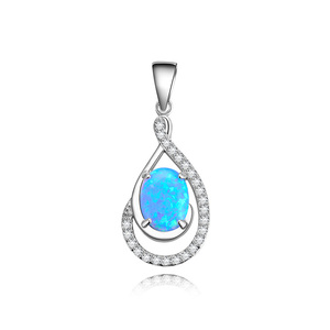 POLIVA Guangzhou Factory Fancy Color Fashion Women Jewellery 925 Sterling Silver Opal Jewellery