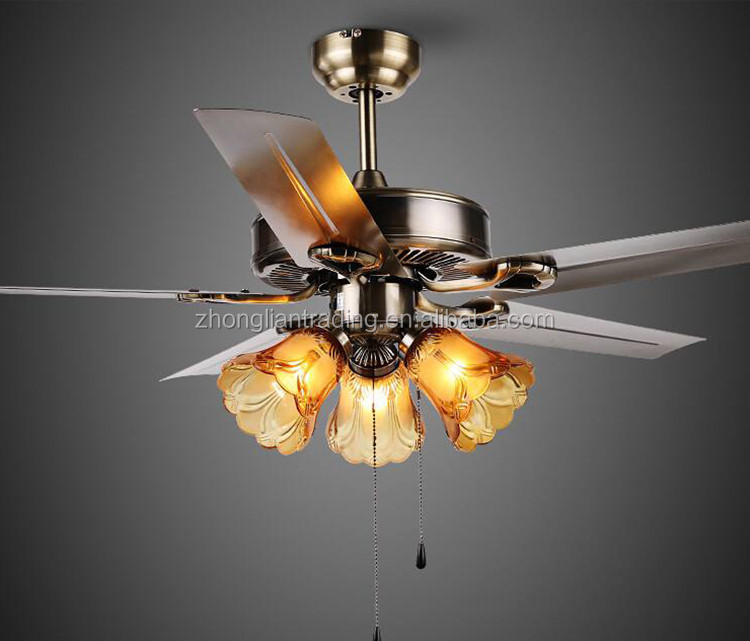 Indoor lighting remote control decorative fancy led ceiling fan light