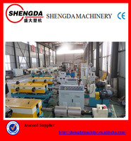 China high performance single wall corrugated pipe making machines / production line/cable protection pipe making machine