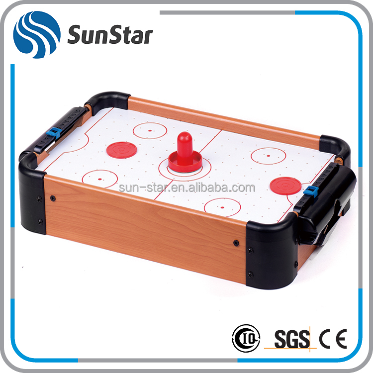 fully stocked mini top sale outdoor air hockey table