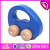 2015 Intelligent toys wooden pull and push toy,New design wooden dragging car toy,Top quality DIY toy wooden moving toy W05B081