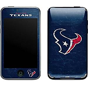 NFL Houston Texans iPod Touch (2nd & 3rd Gen) Skin - Houston Texans Distressed Vinyl Decal Skin For Your iPod Touch (2nd & 3rd Gen)