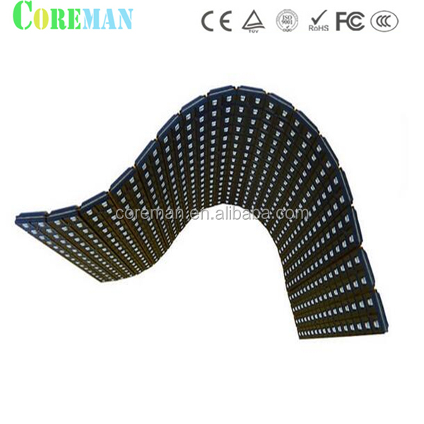 P6.67p10 soft led flexible led display/transparent oled panels
