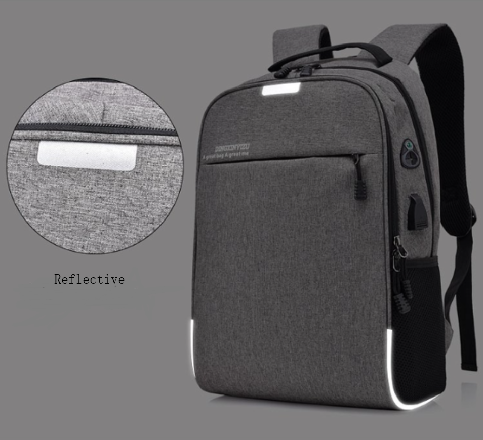 Business Waterproof Notebook Backpack With Anti Theft Lock