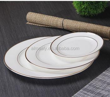 gold rim standard dinner plate size & Gold Rim Standard Dinner Plate Size - Buy Standard Dinner Plate Size ...