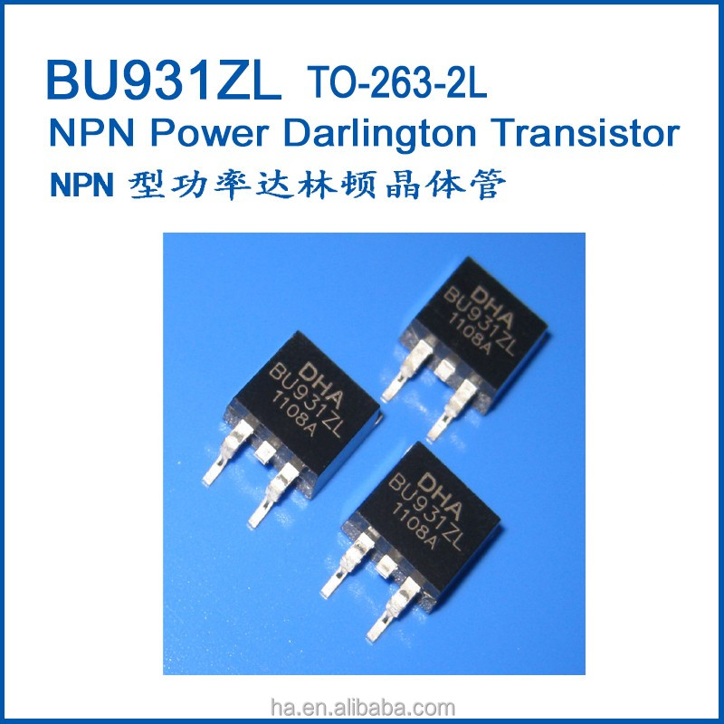 Wholesale NPN Power Darlington Transistor TO263 BU931ZL - Alibaba.com