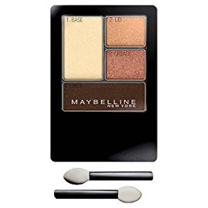 Maybelline Expert Wear Multiple Colors Eyeshadow Quads - .170 Ounces (50Q Sunlit Bronze)