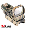 Shipping Free hunting riflescopes Camouflage Hunting Tactical 36mm 22mm Holographic Reflex 4 modes Red Green Dot