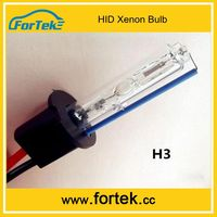 China Manufacturer Auto Spare Parts Xenon HID Bulb H3 For Mondeo 35W 55W 75W 100W 4300K 6000K 8000K