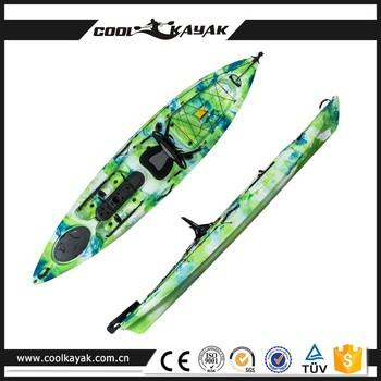 2017 best sale 12 foot pedal fishing kayak buy pedal for Fishing kayak with foot pedals