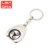Wholesale Cheap Custom Metal Euro Coin Holder, Key Rings Coin Holder, Coin Key Holder