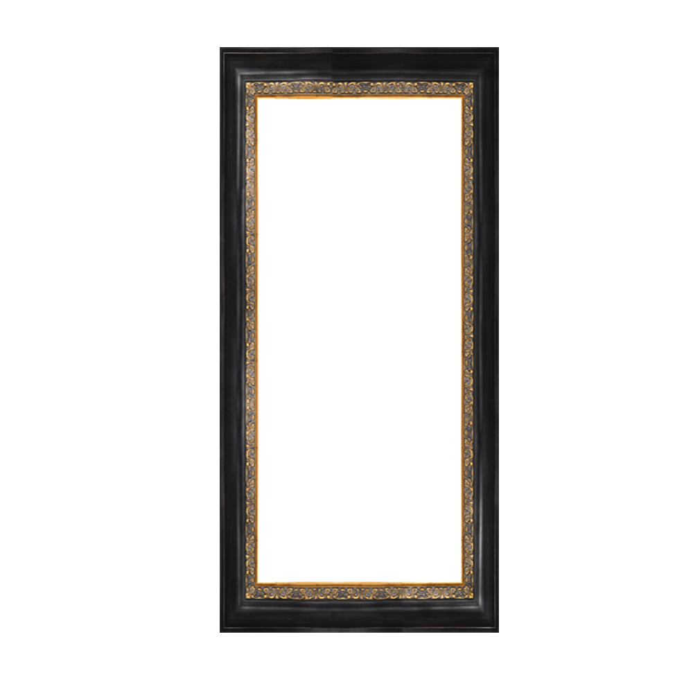 Antique moving wood word carverd picture frames for home coffee hotel decor